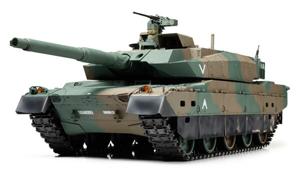 Tamiya #56037 – 1/16 RC Japan Ground Self Defense Force Type 10 Tank Full Option Kit W/Control Unit  [56037]