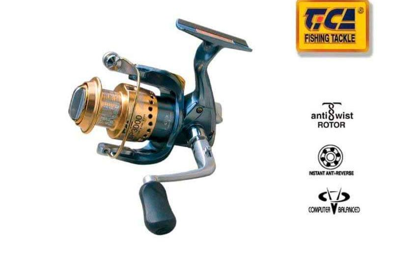 Tica Camry SP3500 Spinning Fishing Reel – FREE Shipping