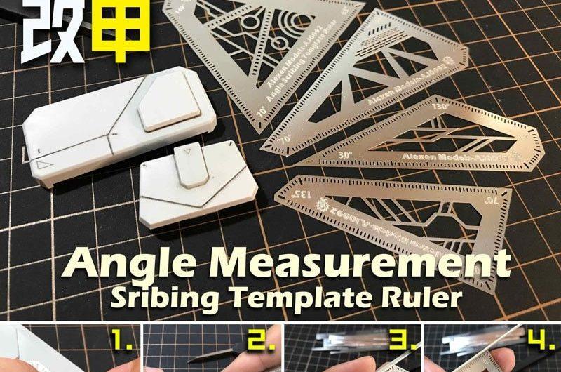 Model angle fixed measurement Gundam Armor use Marking aid model tools