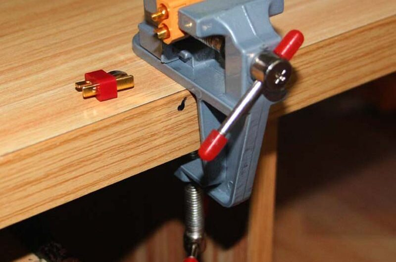 RC hobby model accessories mini bench vise aluminum soldering table clamp