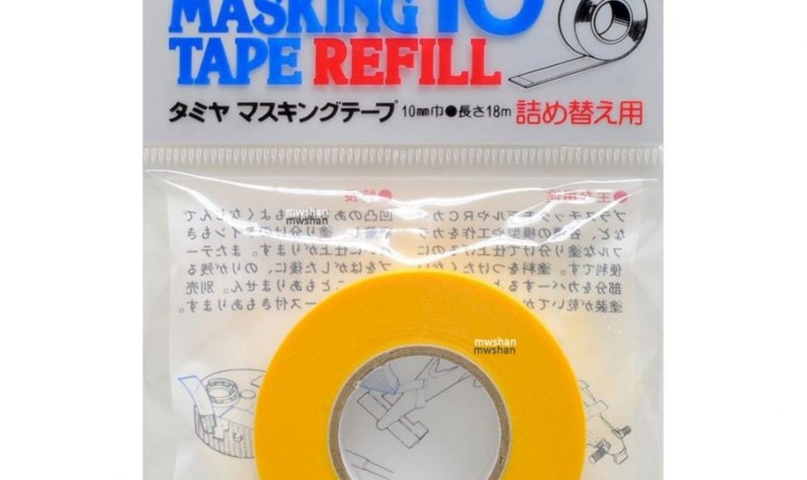 Tamiya  87034 Model Masking Tape Refill For 87031 Width 10mm Length 18m Model Painting Tools Accessory DIY