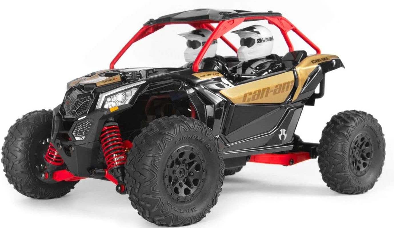 Axial Yeti Jr. Can-Am Maverick X3 1/18 RTR 4WD Electric Rock Racer Buggy w/2.4GHz Radio, Battery & Charger
