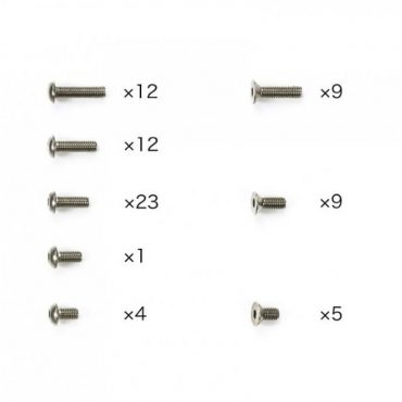 Tamiya #47449 - TC-01 Titanium Screw Set