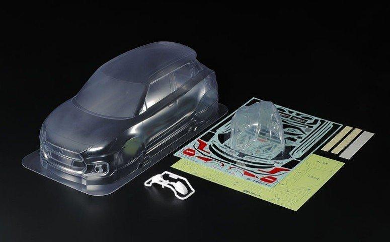 Tamiya #51652 – Suzuki Swift Sport Body Parts Set
