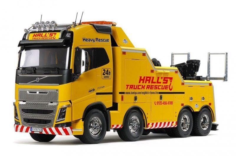Tamiya #56362 – 1/14 Volvo FH16 Globetrotter 750 8×4 Tow Truck