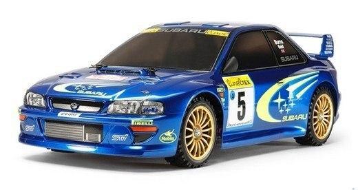 Tamiya #58631 – 1/10 Subaru Impreza Monte Carlo 1999 (TT-02)