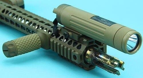 G&PAEG Power Bank with Rail 7.4v 1600mAh (20C) / External Battery with Flashlight – Sand – GP-TAL006SD