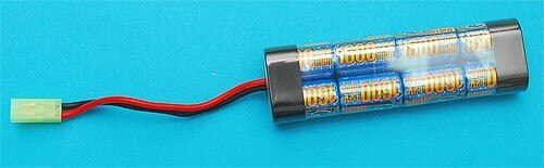 G&P 9.6v 1600mAh Mini Type Battery – GP912B