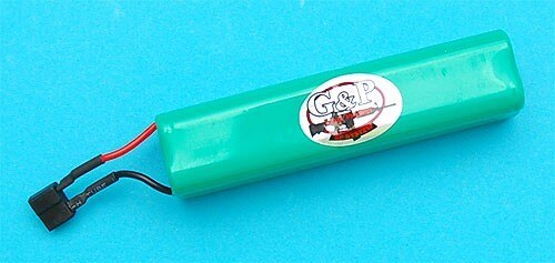 G&P Airsoft 9.6v 650mAh Battery For Tank – GP834 for Airsoft Gun