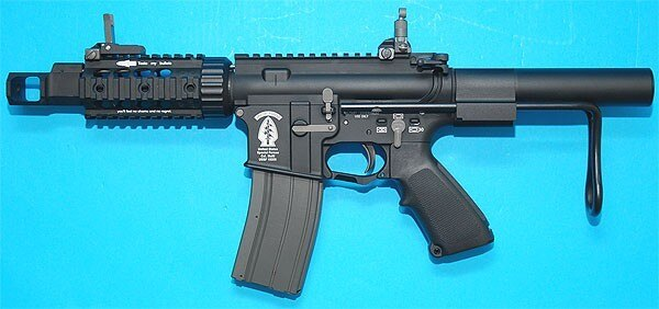 G&P Airsoft WOC Tank Gas Blowback GBB Rifle – G&P GP-WOC15