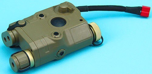 G&P PEQ15 Battery Case (11.1v) (Sand) Airsoft Parts GP-BAT005BS