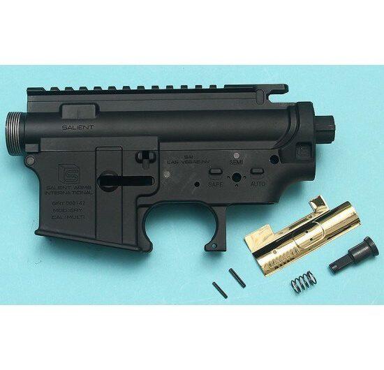 G&P Salient Arms Licensed Gen. 2 Metal Body for Tokyo Marui M4 / M 16 Series  G&P F.R.S. Series – Black Airsoft GP-MEB026BK