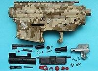 G&P Skull Frog Type Metal Body (Digital Desert)  GP-MEB010DD for GP Airsoft Spare Parts Kit Set