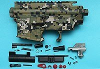 G&P Skull Frog Type Metal Body (Jungle Pixel) GP-MEB010PX for GP Airsoft Spare Parts Kit Set