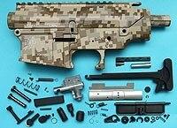 G&P SR-25 Metal Body (Digital Desert)  GP-MEB009DD for GP Airsoft Spare Parts Kit Set