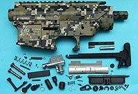 G&P SR-25 Metal Body (Jungle Pixel) GP-MEB009PX for GP Airsoft Spare Parts Kit Set