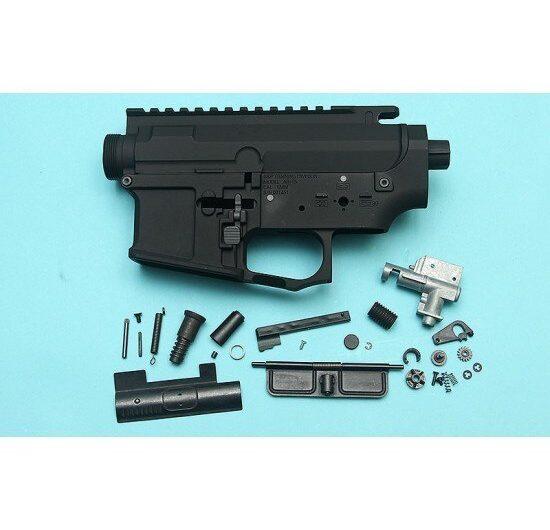 G&P Stealth GP Taper Metal Body for Tokyo Marui M4/ M16 Series  G&P FRS Series – Black Airsoft GP-MEB024BK