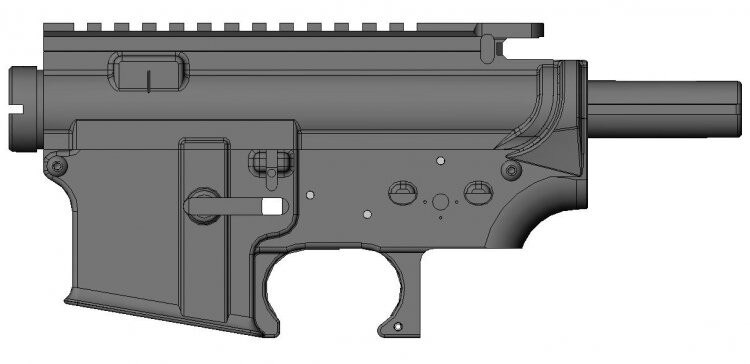 Madbull Double Star M4 Metal Body Ver. 2 (Includes Ultimate Hop Up Unit) – MB-MB-DSV2 for Airsoft AEG Parts Kit