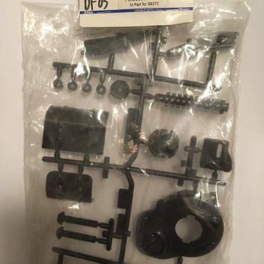 Tamiya Aluminum M Parts Black Blue For 1:10 Tamiya DF03 Buggy 58370 RC Cars #10115365