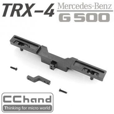 Metal Rear Bumper with Hook LED for TRX-4 G500 4X4 1/10 rc car Upgrade - CCHand CH0005C