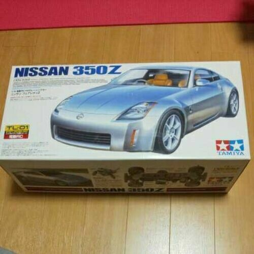 Tamiya 1/10 Electric Rc Nissan Fairlady Unassembled Tl-01 Chassis Body 350Z